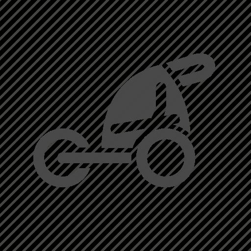 accesories, bicycle, bike, children, sport, trailer icon