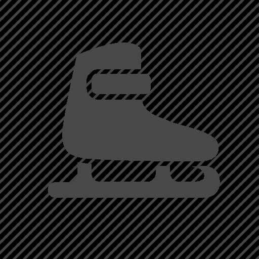classic, footwear, ice, individual, skates, sport, winter icon