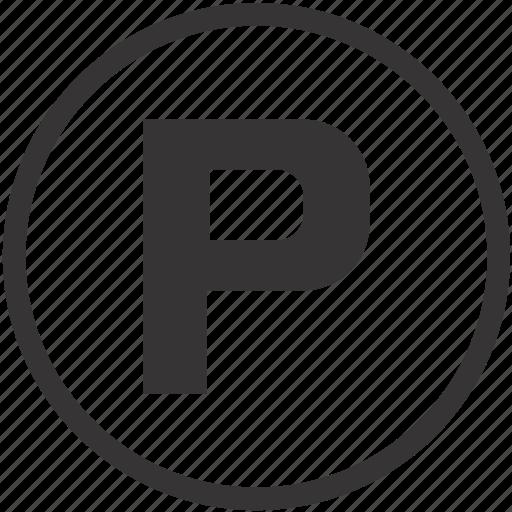 automobile, car, motor, parking, vehicle icon