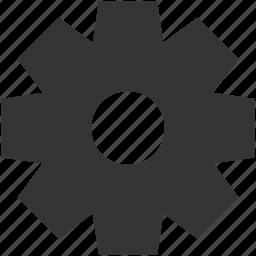 equipment, gear, options, repair, settings, tool icon