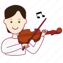 .svg, black hair, job, musician, músico, profession, professional, profissão, white man icon