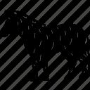 animal, black and white, fauna, head, herbivore, nature, zebra icon