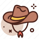 hat, western, cowboy