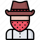 cowboy, robber, thief, west, wild icon