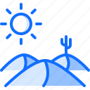 cactus, cowboy, desert, sun, west, wild icon