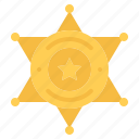 badge, cowboy, sheriff, star, west, wild
