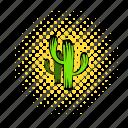 cactus, comics, desert, dry, west, western, wild icon