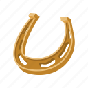 cartoon, farm, horse, horseshoe, metal, shoe, western icon