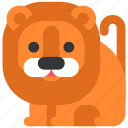 animal, beast, fauna, leon, wild, wildlife, zoo icon