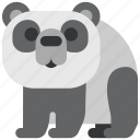 animal, bear, beast, fauna, panda, wild, wildlife icon