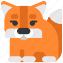 animal, beast, fauna, fox, wild, wildlife, zoo icon