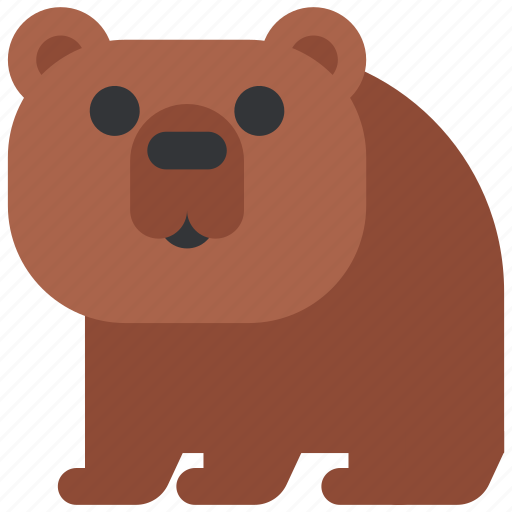 animal, bear, beast, fauna, wild, wildlife, zoo icon