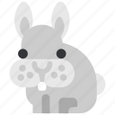 animal, beast, fauna, rabbit, wild, wildlife, zoo icon