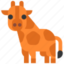 animal, beast, fauna, giraffe, wild, wildlife, zoo icon