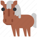 animal, beast, fauna, horse, wild, wildlife, zoo icon