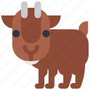 animal, beast, fauna, goat, wild, wildlife, zoo icon