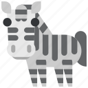 animal, beast, fauna, wild, wildlife, zebra, zoo icon