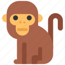 animal, beast, fauna, monkey, wild, wildlife, zoo icon