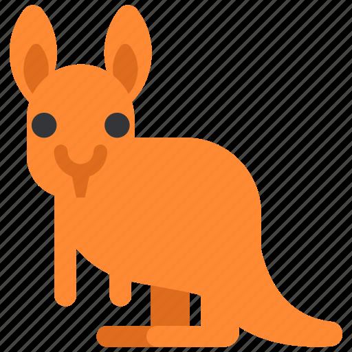 animal, beast, fauna, kangaroo, wild, wildlife, zoo icon