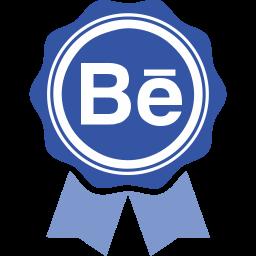 behance, social media icon