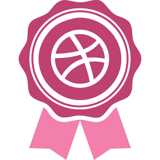 dribbble, dribble, social, social media icon