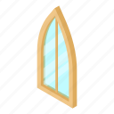 corner, frame, isometric, object, sharp, white, window