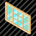 frame, house, isometric, object, white, window, wood