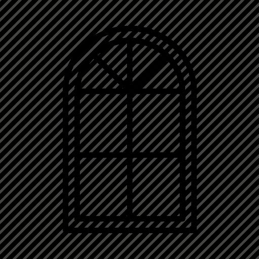 architecture, frame, home, house, interiors, multi pane window, windows icon