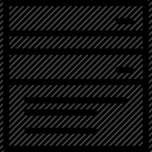 browser, creative, divide, document, grid, horizontal, layout, line, multiple, page, shape, split, split-horizontal-window, window icon