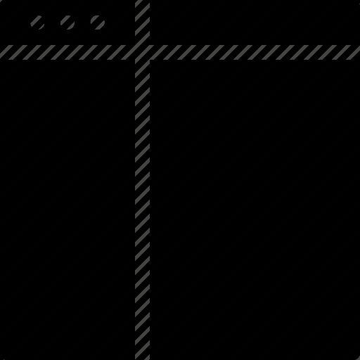align, browser, creative, divide, document, grid, layout, page, shape, split, split-vertical, tile, vertical, window icon