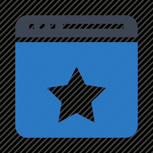 browser, favorite, internet, online, webpage icon