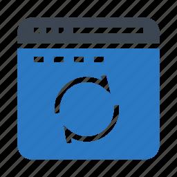 internet, online, refresh, reload, window icon