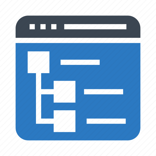 internet, menu, online, webpage, window icon