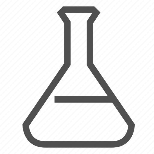 alcohol, analysis, bulb, flask, laboratory, test, wine icon