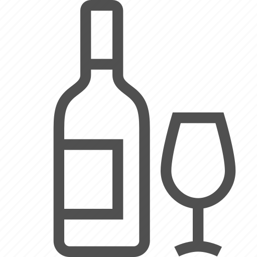 bottle, glass, red, tasting, white, wine, wineglass icon