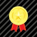 banner, coin, golden, medal, star, trophie, wheat
