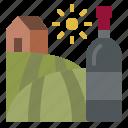 vineyard, wine, winery, grapes