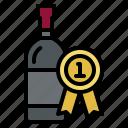 award, winery, wine, drink