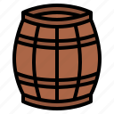barrel, wine, making, wooden