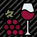 glass, grape, alcoholic, winery