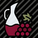 grape, wine, jar, winery