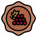 wine, badge, shop, winery