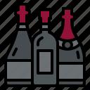 wine, bottles, drinks, winery