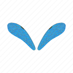 cartoon, dragonfly, nature, pair, realistic, summer, wing icon