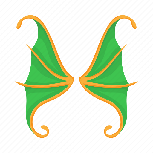 background, butterfly, cartoon, green, spring, summer, wing icon