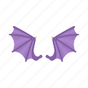animal, background, bat, cartoon, halloween, mammal, wing icon