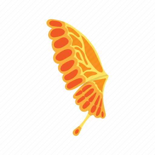 bright, butterfly, cartoon, colorful, decoration, design, wing icon
