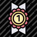 band, win, award, badge, ribbon