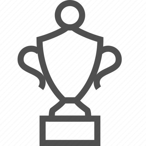 cup, first, goblet, prize, reward, success, trophy icon