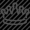 best, crown, first, glorify, top, win, winner icon